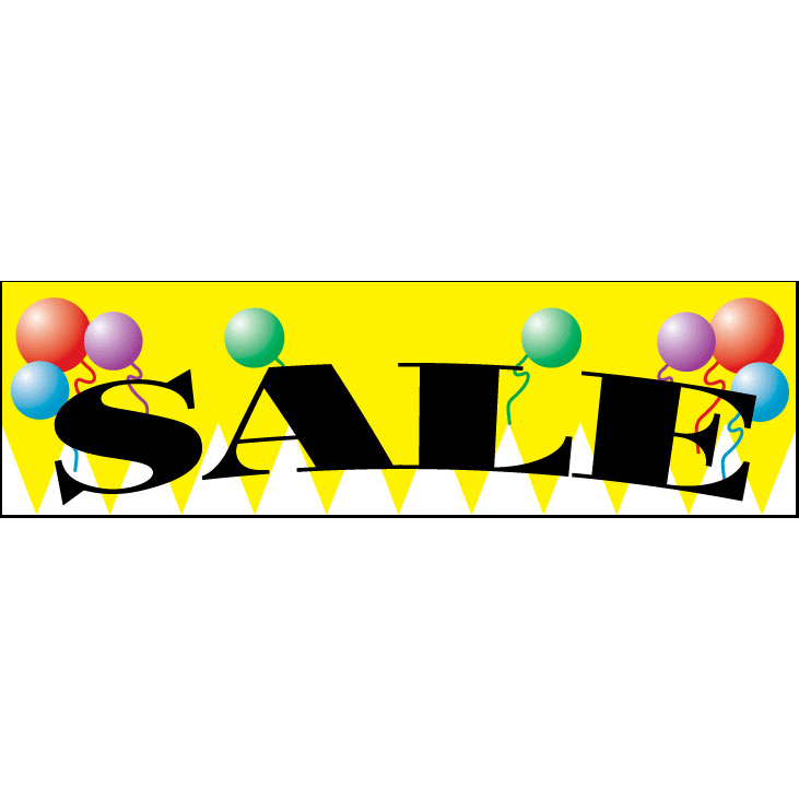 Yellow Sale Advertising Banner