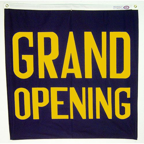 Grand Opening Advertising Decoration