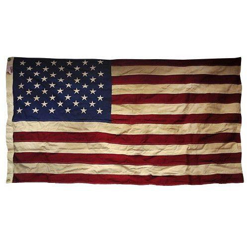 50-Star Heritage Antique Processed US Flag