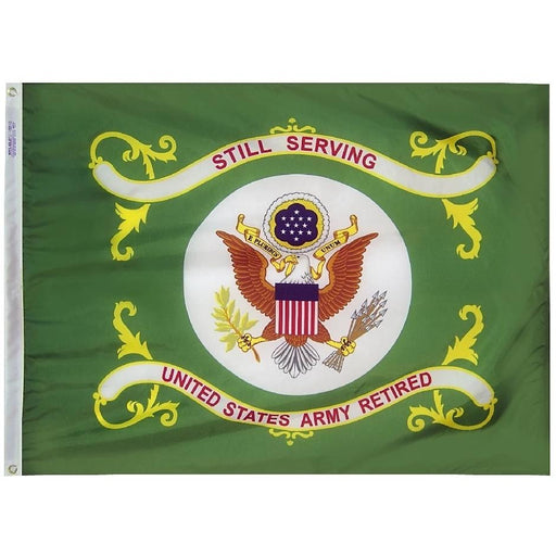 U.S. Army Retired Flag