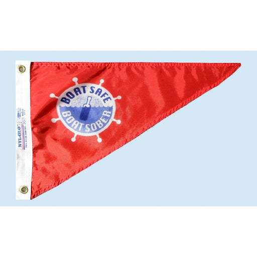 Boat Safe, Boat Sober Personal Bow Pennant