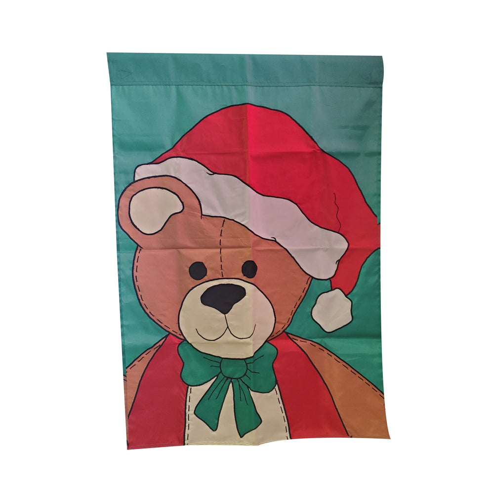 Christmas Teddy Bear Banner