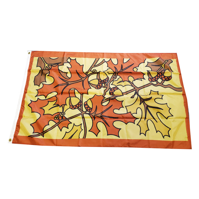 Fall Leaves Flag