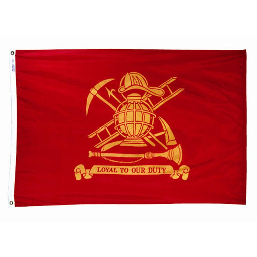Fire Fighter Nylon Flags