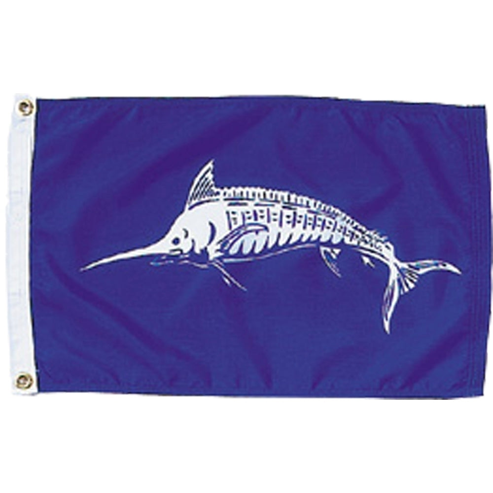 White Marlin Fish Flag