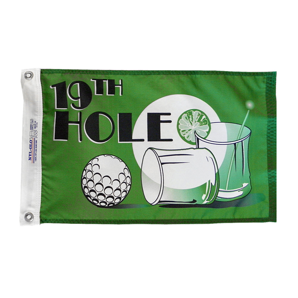 19th Hole Nautical Fun Flag