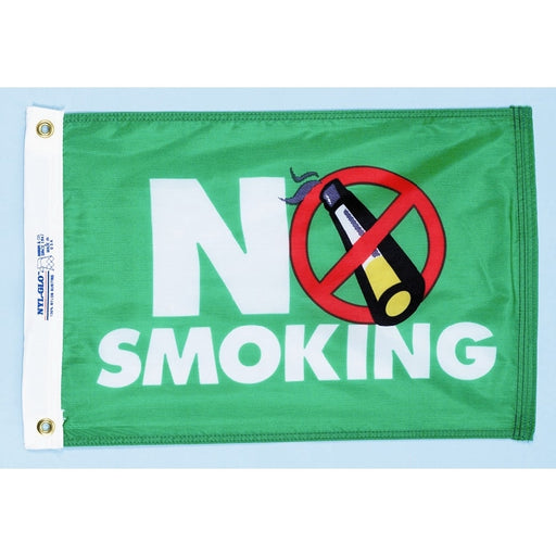 No Smoking Nautical Fun Flag