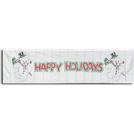 3 x 10' Happy Holidays Banner