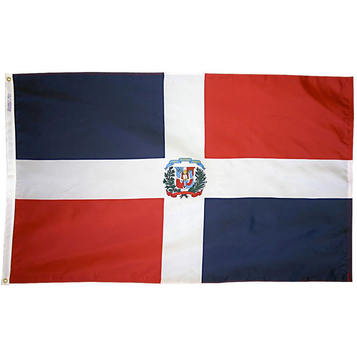 Dominican Republic Government Flag