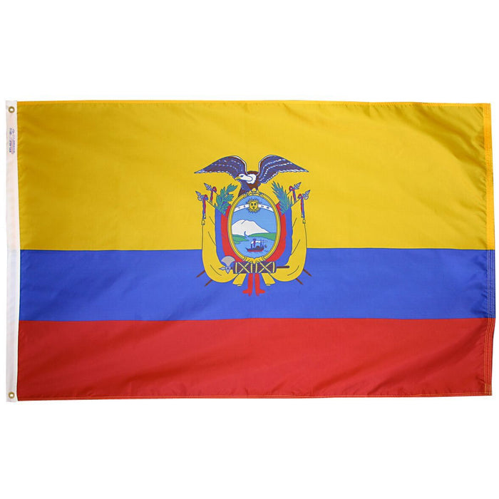 Ecuador Government Flag
