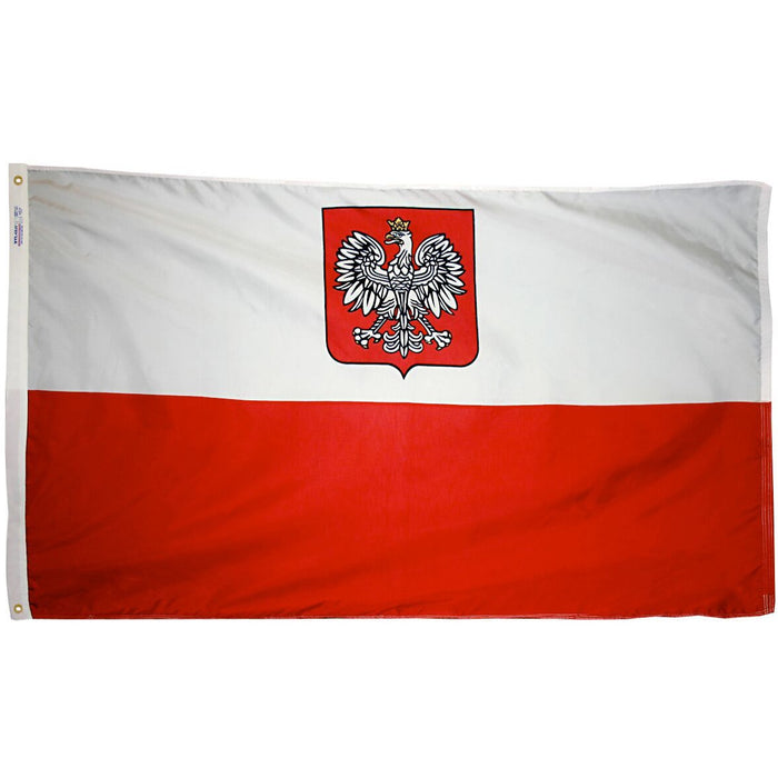 Poland Eagle Flag
