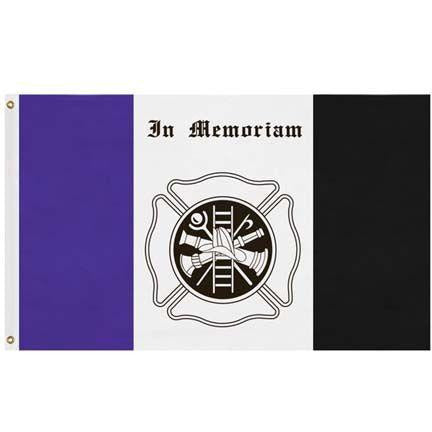 In Memoriam-Fireman Flag