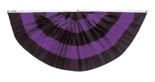 Pleated Full Mourning Fan