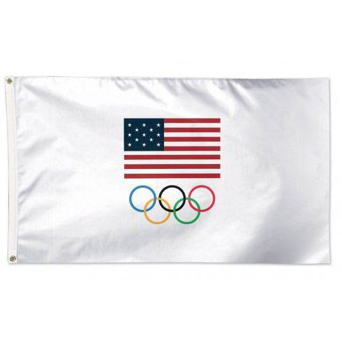 Olympic USA Flag - 3x5'