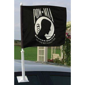 POW-MIA Car Window Flag