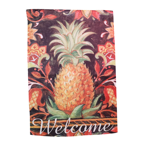 Welcome Pineapple Garden Banner