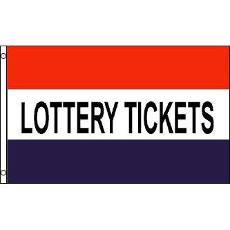 Lottery Tickets Message Flag
