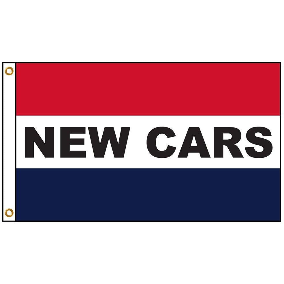 New Cars Message Flag