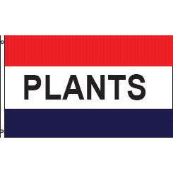 Plants Message Flag