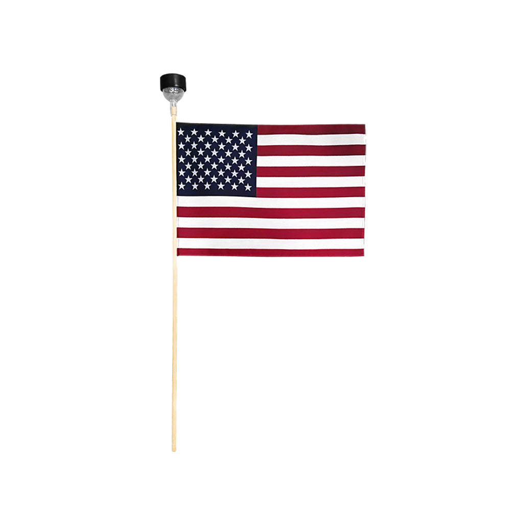 US Solar Stick Flag