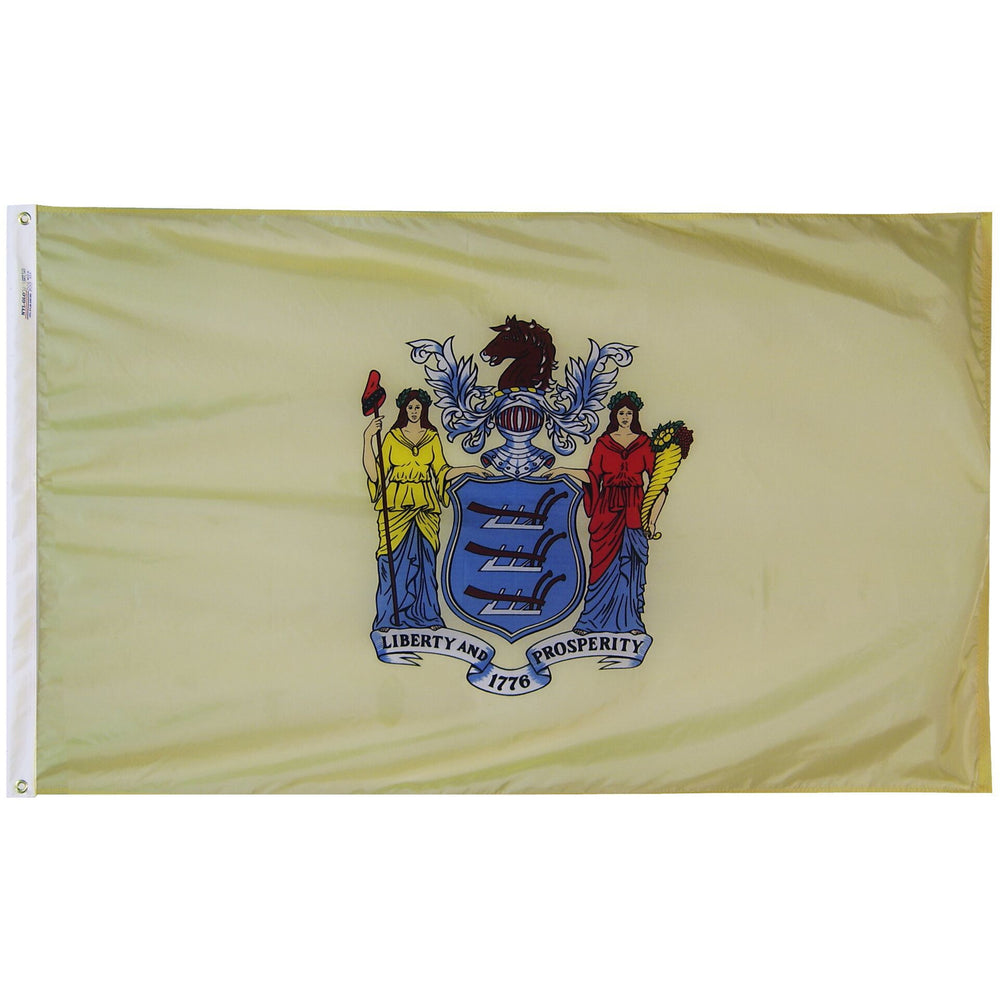 New Jersey Flag - Nylon - Upto 8ft