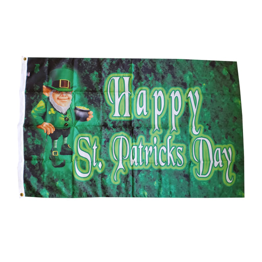 Saint Patrick's Day - Leprechaun Flag