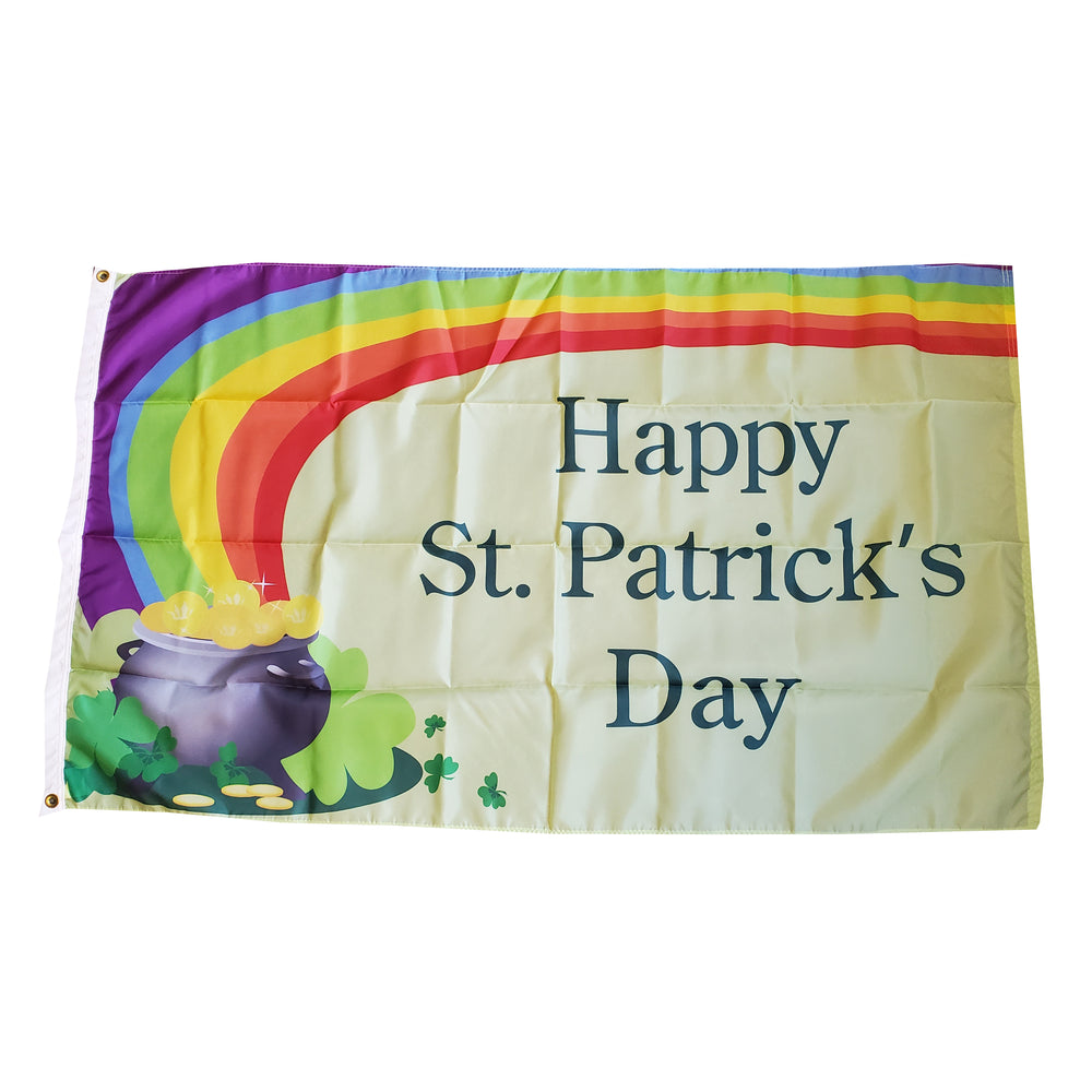 Saint Patrick's Day - Pot of Gold Flag