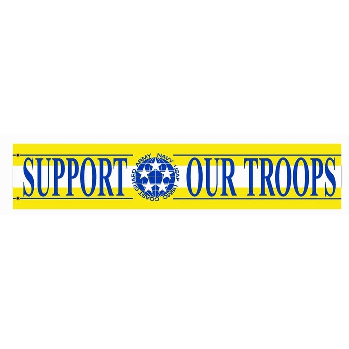 Support Our Troops Streamer