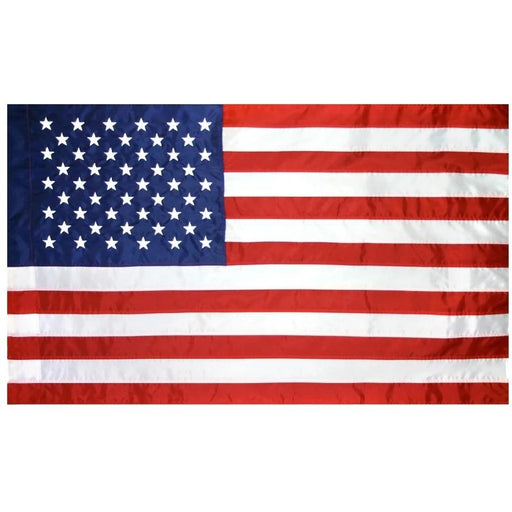 U.S. Outdoor Nylon Flag - Pole Hem