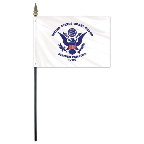 U.S Coast Guard Stick Flag