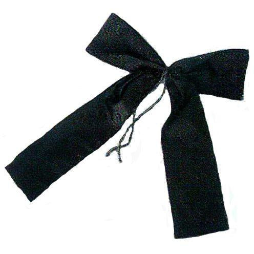 "16"" Nylon Black Mourning Bow"
