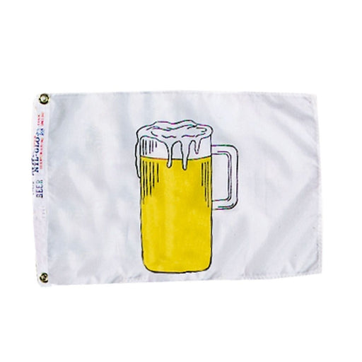 Beer Nautical Fun Flag
