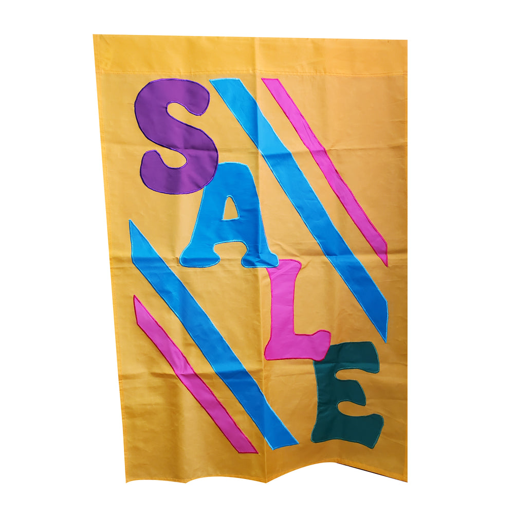 Sale Yellow Banner