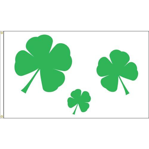 Shamrocks Nylon - 3 x 5'