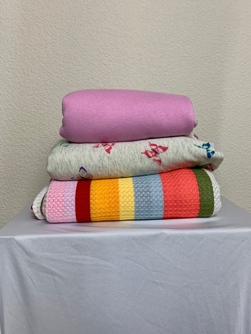 Bundle: Assorted Spring Knit Fabrics