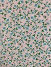 Fabric Piece: Blue Floral/Light Pink Oakley, 3.5 Yards
