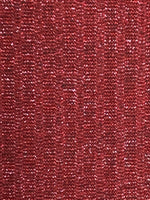 Rib Knit Fabric: Cranberry Red with Lurex