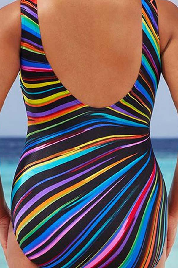 Color Burst Swimsuit