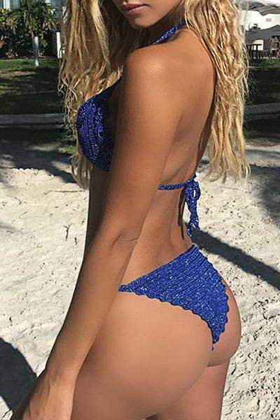 Crocheted 2 Pc Bikini