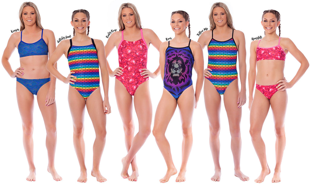 Zealous Swimwear - training swimwear chlorine resistant