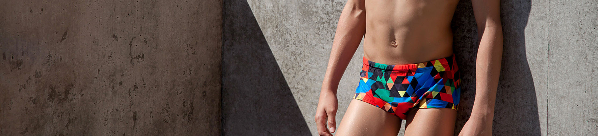 ZEALOUS TRAINING SWIMWEAR - BOY'S TRAINING TRUNKS