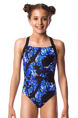 Arctic Blast Girls Racers - Shop Zealous Training Swimwear