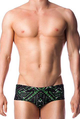 Aztec Warrior Men's Briefs - Shop Zealous Training Swimwear