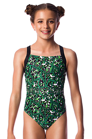 Crackerjack Girls Racers - Shop Zealous Training Swimwear