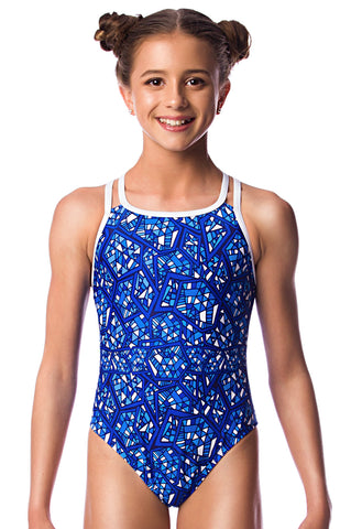 Day Break Girls Cross Back - Shop Zealous Training Swimwear