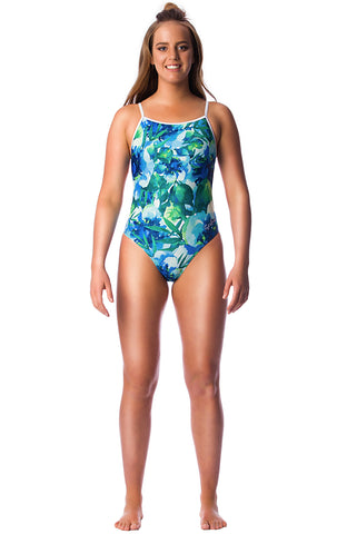 In Bloom Ladies Thin Strap - Shop Zealous Training Swimwear