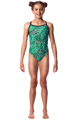 Palm Beach Girls Thin Strap - Shop Zealous Training Swimwear