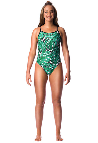 Palm Beach Ladies Thin Strap - Shop Zealous Training Swimwear