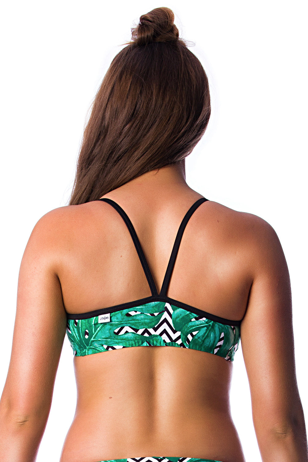 Palm Beach Top Ladies Two Piece - Tops - Shop Zealous Training Swimwear