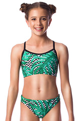 Palm Beach Girls Two Piece - Shop Zealous Training Swimwear